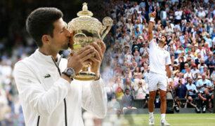 Djokovic se impone ante Federer en la final más larga de Wimbledon