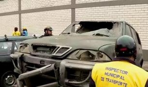 La Victoria: continúan operativos para retiro de autos mal estacionados y abandonados