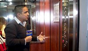 Surco: protestan por ascensor malogrado en edificio con más de 90 familias