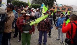 Tía María: Arequipa inicia paro indefinido contra proyecto minero