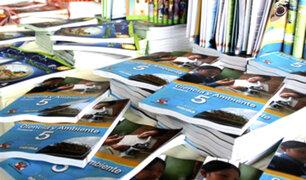 Informe final recomienda a Minedu revisar contenido de textos escolares