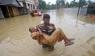 Sur de Asia: cerca de 110 fallecidos dejan inundaciones y deslizamientos de tierra