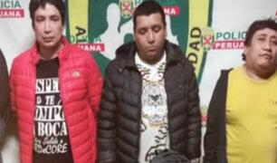 SMP: cae banda con armamento proporcionado desde penal de Lurigancho