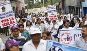 Médicos realizarán paro nacional de 48 horas desde mañana