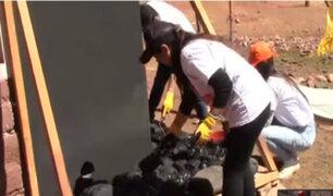 "Cusco: Adra, BCP y Panamericana TV cumplieron promesa e inauguraron ""casas abrigadoras"" en Palccoyo"