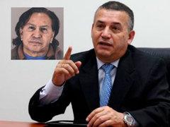 """Daniel Urresti envió """"extraño"""" mensaje tras arresto Alejandro Toledo"""