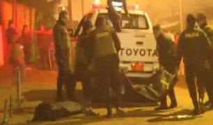 Callao: dos muertos deja presunto enfrentamiento de pandillas en Ventanilla