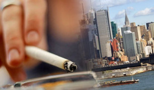 EEUU: Nueva York prohibirá la venta de tabaco y cigarrillos a menores de 21 años