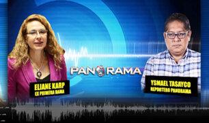 """AUDIO   Eliane Karp evita declarar sobre Toledo: """"I don't speak spanish"""""""