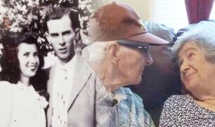 Amor para toda la vida: esposos murieron el mismo día tras 71 años de matrimonio