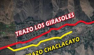 Chaclacayo: alcalde invitó a Muñoz a recorrer trazo de obras de autopista Ramiro Prialé