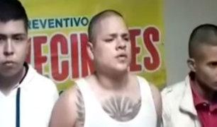 SMP: seguidor de los 'Mara Salvatrucha' cae vendiendo droga