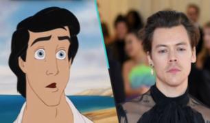 Harry Styles podría interpretar al príncipe Eric en 'La Sirenita'