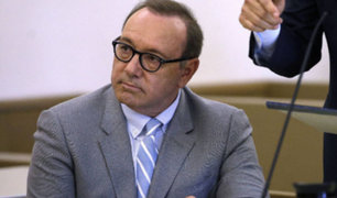 Kevin Spacey: fiscales retiran cargos contra el actor por agresión sexual