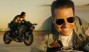 Tom Cruise: lanzan primer tráiler de Top Gun Maverick