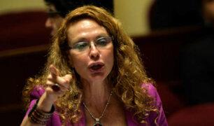 Eliane Karp y su polémica visita al Congreso por caso Ecoteva