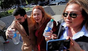 EEUU: Eliane Karp llegó a juzgado que decidirá libertad de Toledo