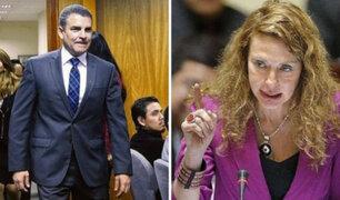 """Karp calificó de """"mentiroso"""" a fiscal Vela, tras salida de audiencia de Toledo"""