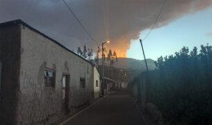 [FOTOS] Volcán Ubinas: proceso de erupción y cómo afectó al sur del país