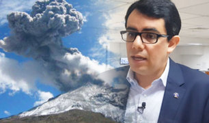 Volcán Ubinas: Patricio Valderrama brinda detalles sobre cómo puede afectar la actividad volcánica