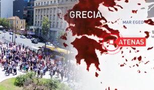 Grecia: fuerte sismo de 5.1 grados sacudió la ciudad de Atenas