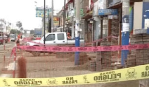 San Bartolo: demora en obras genera malestar entre vecinos