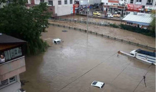 Turquía: inundaciones y lluvias dejan varios desaparecidos