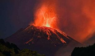 VIDEO: alerta en Italia tras erupción del volcán Etna