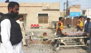 Pakistán: doble atentado deja al menos 10 muertos y 29 heridos