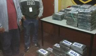 Tumbes: incautan más de 220 kilos cocaína en camión frigorífico