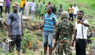 Nigeria: al menos 37 muertos por ataque de hombres armados en el noroeste del país