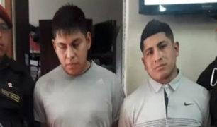 Ate: policía capturó a banda que era terror de farmacias