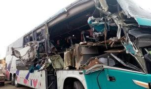 Un muerto y 11 heridos deja accidente de tránsito en Huarmey