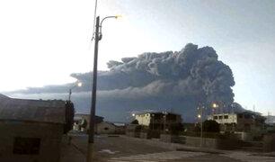 Bolivia: alerta por llegada de cenizas de volcán Ubinas