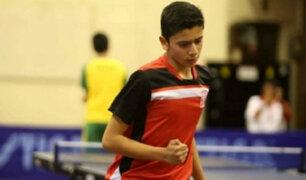 Carlos Fernández: peruano clasificó al Mundial de tenis de mesa en Polonia