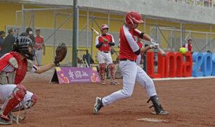 Lima 2019: selección de varones de Sóftbol apunta a llegar lejos