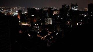Venezuela: nuevo apagón en Caracas deja once estados a oscuras