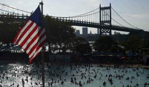 Frente frío reduce altas temperaturas en Estados Unidos