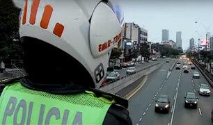 Pico y Placa en Javier Prado: algunos conductores no respetaron restricción vehicular