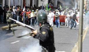 Tía María: nuevo enfrentamiento entre policías y comuneros en Cocachacra