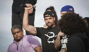 Puerto Rico: Ricky Martin y artistas se unen a protestas por dimisión del gobernador