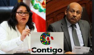 Congresistas Janet Sánchez y Moisés Guía se integraron a Grupo Contigo