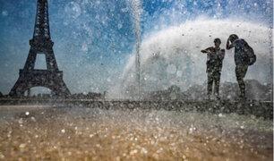 Europa: segunda ola de calor afecta a Francia y España