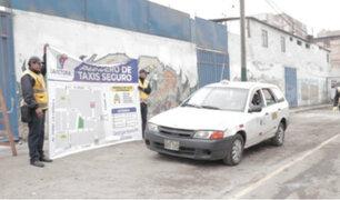 La Victoria: autorizan ingreso de taxis a emporio comercial de Gamarra