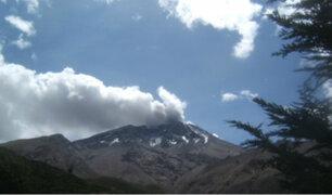 Volcán Ubinas: prevén explosiones con energías sísmicas