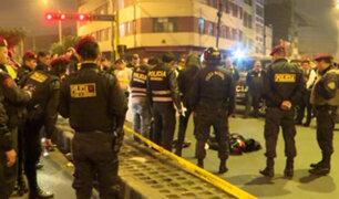 Cercado de Lima: policía abate a delincuente que robó casino