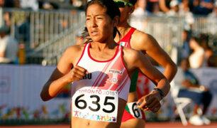 Lima 2019: Inés Melchor no correrá la maratón por lesión