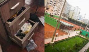 Club Lawn Tennis: roban dinero y objetos de valor en sede de los Panamericanos