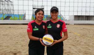 Lima 2019: Selección Peruana de Voleibol Playa ganó 2-0 a El Salvador en su debut