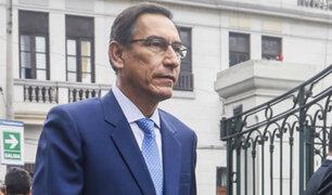 Tía María: Presidente Martín Vizcarra llegó a Arequipa para reunión con gobernadores